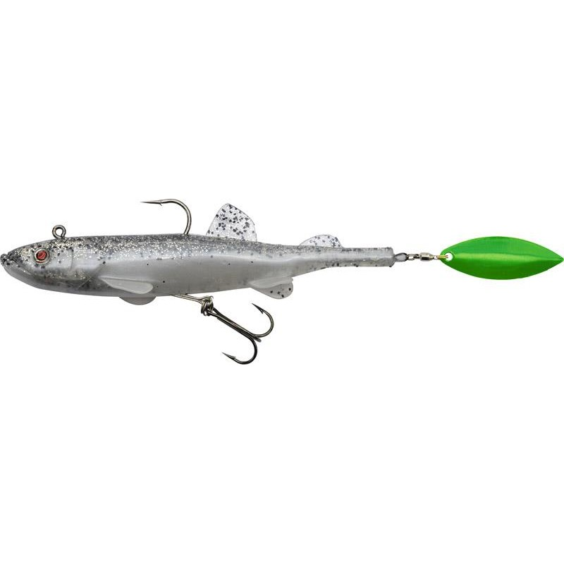 Lures Quantum Specialist RUBBER DUCK SHAD 17G SALT N PEPPER