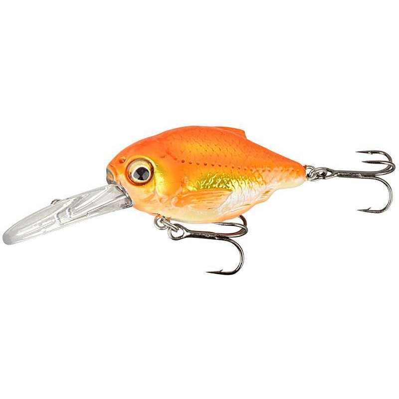 3D CRUCIAN CRANK 3.5CM 05 DR - BLACK ORANGE