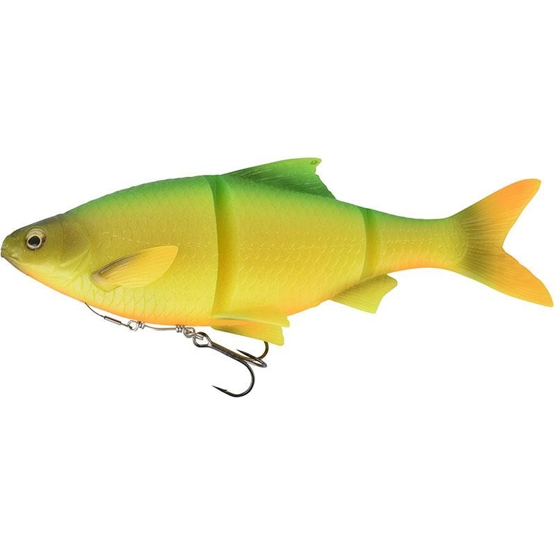 """Savage Gear Yellow Perch 3D Line Thru Trout 6/"""" Moderate Sinking Fishing Lure"""