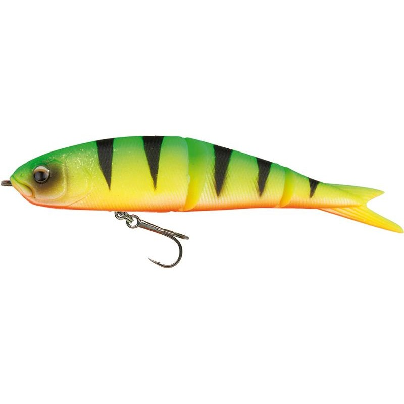 Lures Savage Gear SOFT 4PLAY READY TO FISH 13CM FIRE TIGER