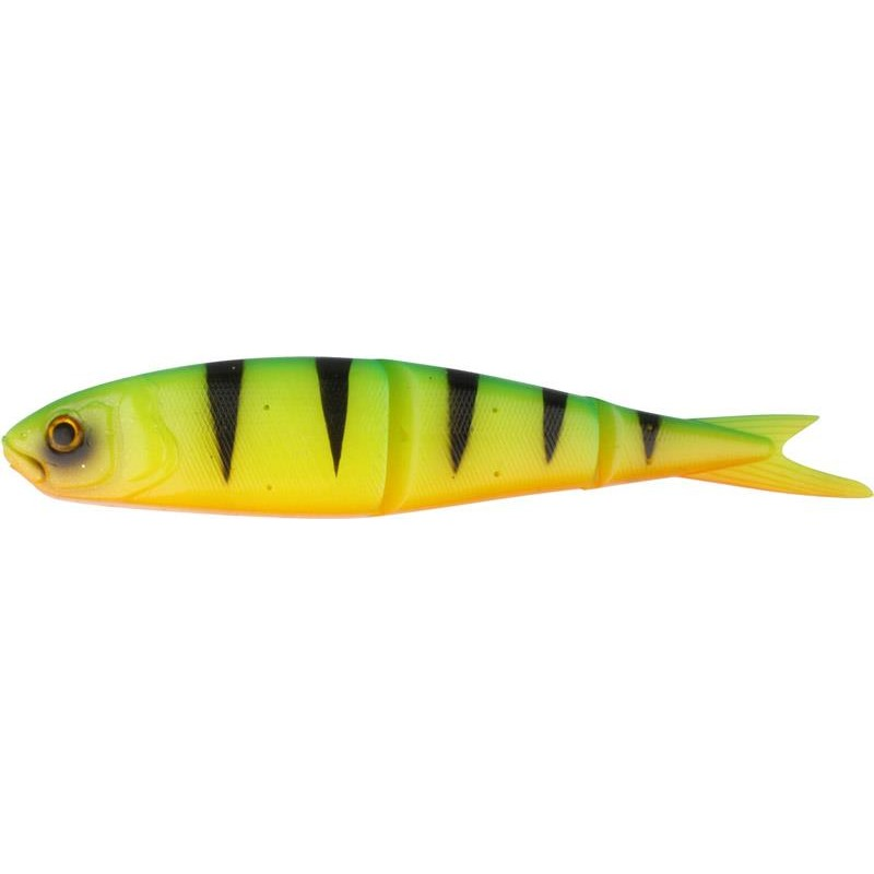 Lures Savage Gear SOFT 4PLAY LOOSE BODY 9.5CM FIRE TIGER