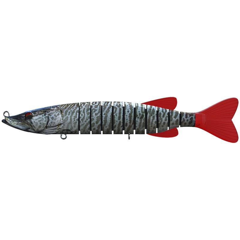 SWIMPIKE SINK 24CM 75G TIGER MUSKY