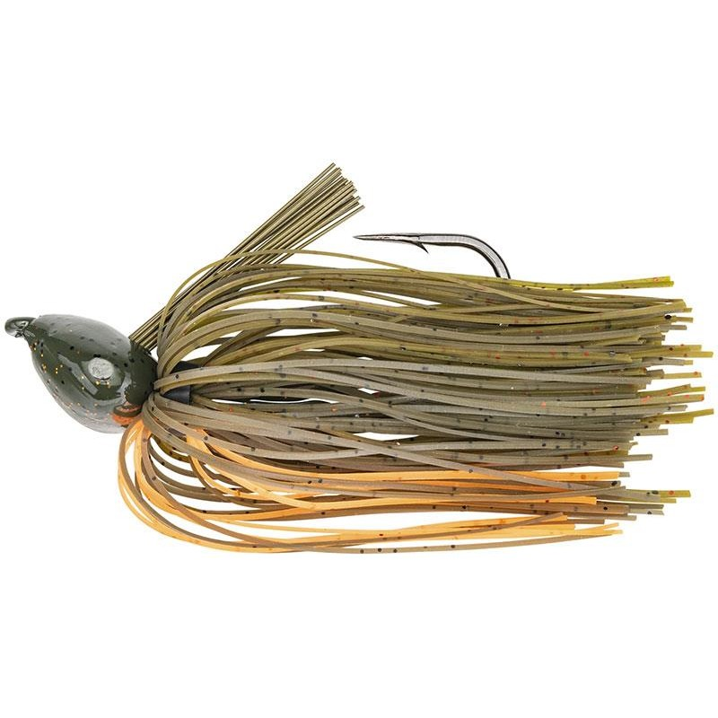 Lures Strike King DENNY BRAUER BABY STRUCTURE JIG 10.5G BAMA CRAW