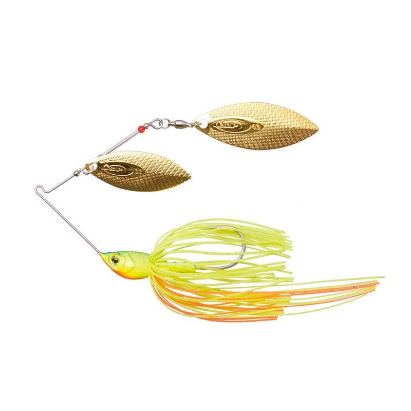 Lures O.S.P HIGH PITCHER MAX TANDEM WILLOW 10.5 GR IMPACT LIME CHART