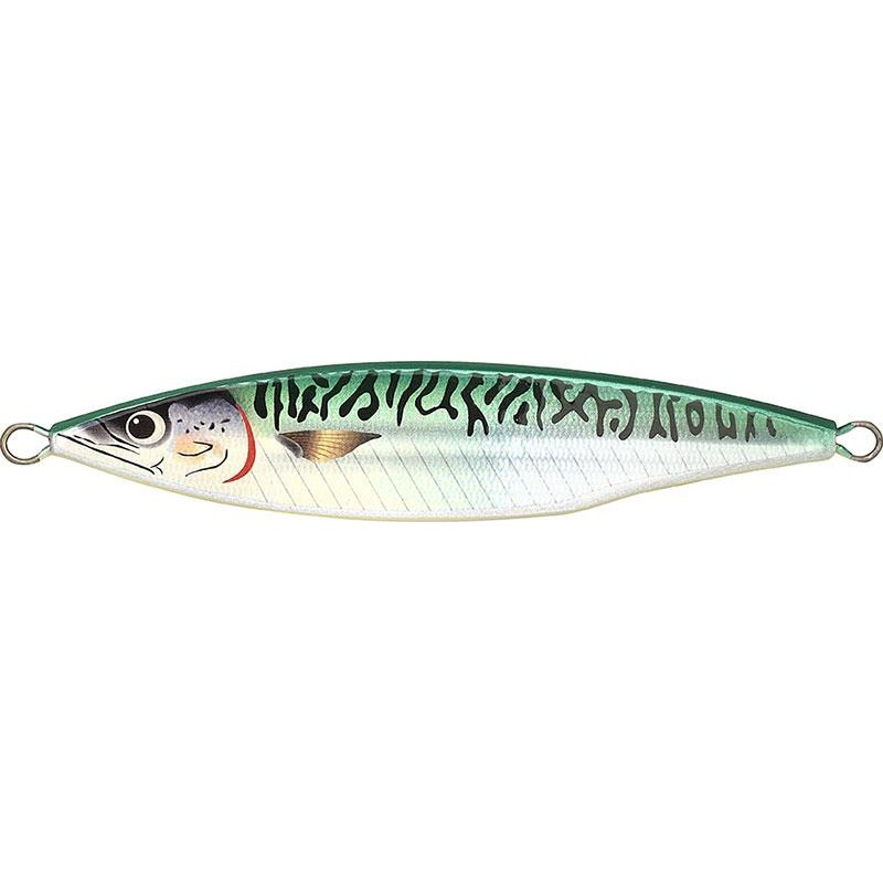 Lures Fish Tornado REAL MACKEREL JIG 120GR GREEN MACKEREL