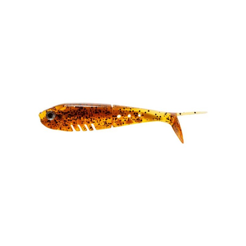 BABY BUSTER SHAD 5CM PEPPER TEA