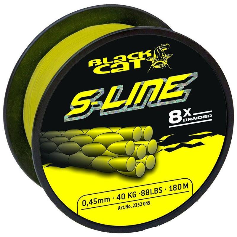Lines Black Cat S LINE JAUNE 180M 45/100