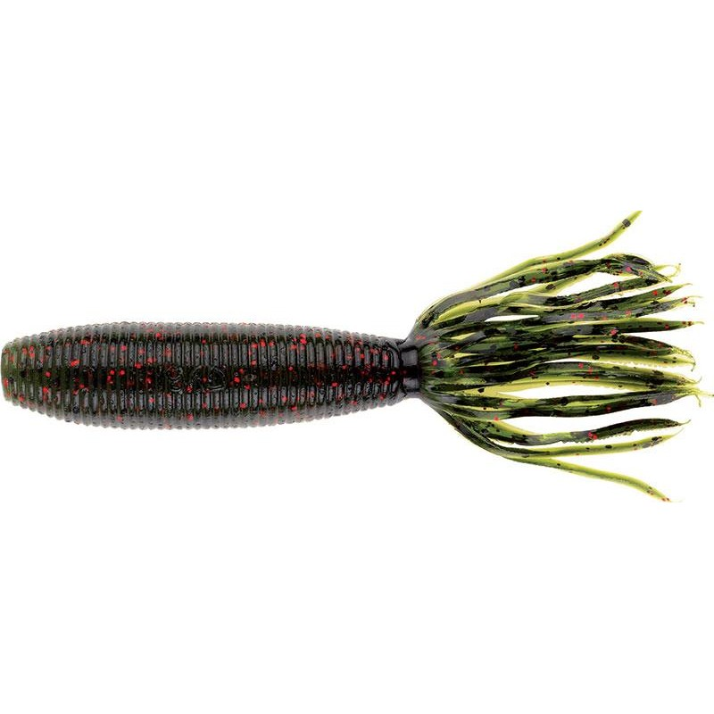 "Lures Gary Yamamoto FAT IKA 4"" WATERMELON-BLACK/RED"