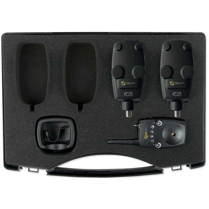 Instruments Carp Spirit HD3 COFFRET DETECTEURS + CENTRALE 2+1
