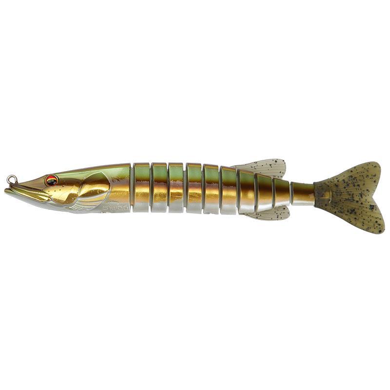 Lures Biwaa Fishing Performance SWIMPIKE FAST SINK 24CM 85G AURORA COPPER