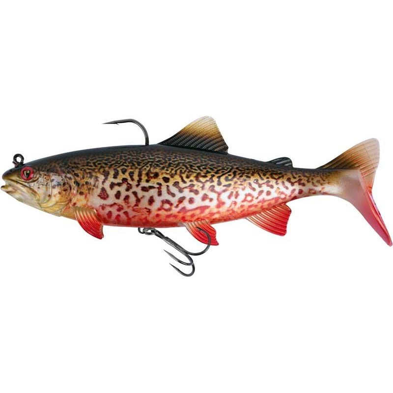 Lures Fox Rage REALISTIC REPLICANT TROUT 23CM SUPER NATURAL TIGER TROUT