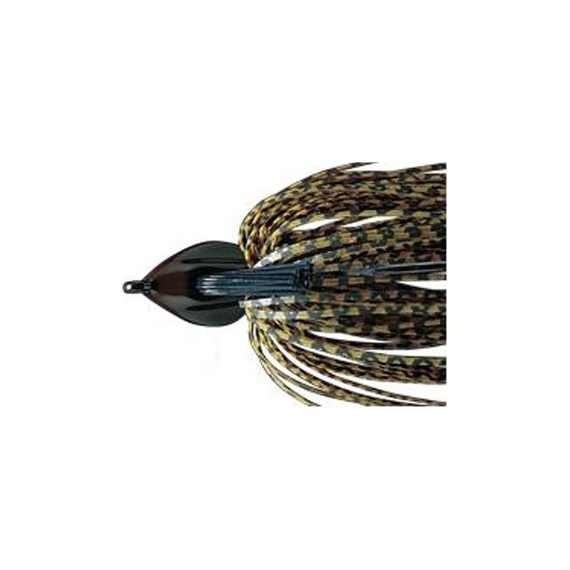 Lures Deps FLAT BACK JIG 14G BLACK BLUE FLAKE