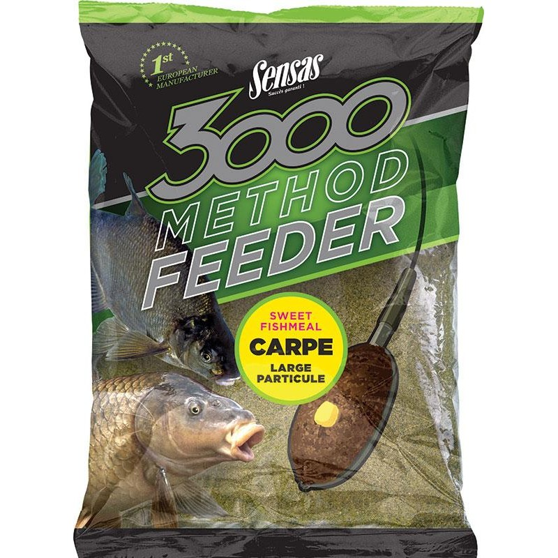 Baits & Additives Sensas 3000 METHOD 3000 METHOD CARPE