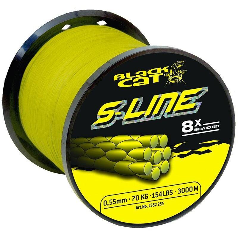 Lignes Black Cat S LINE JAUNE 3000M 38/100