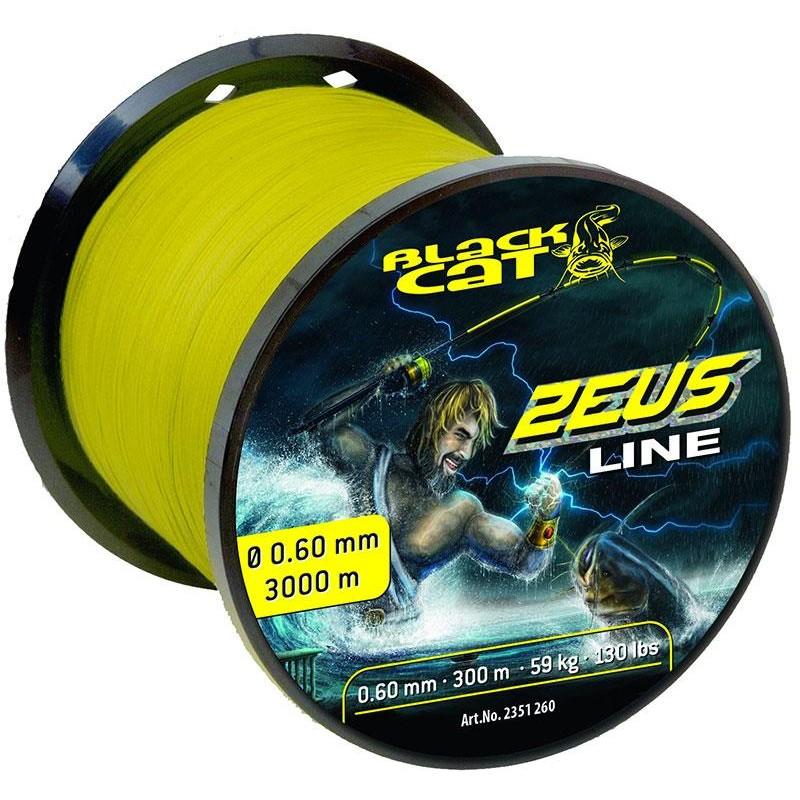 Lines Black Cat ZEUS LINE JAUNE 3000M 60/100