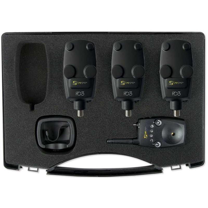 Instruments Carp Spirit HD3 COFFRET DETECTEURS + CENTRALE 3+1