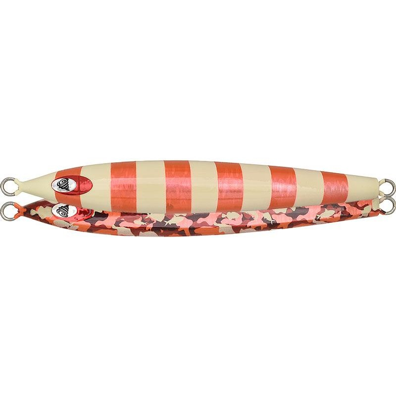 Lures Fish Tornado CHARA JIG LONG 370GR RED GOLD GLOW STRIPE