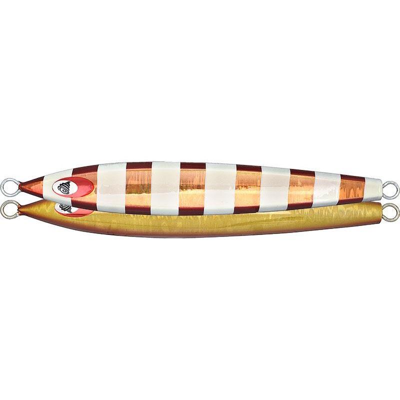 Leurres Fish Tornado CHARA JIG LONG 370GR PINK SILVER GLOW STRIPE