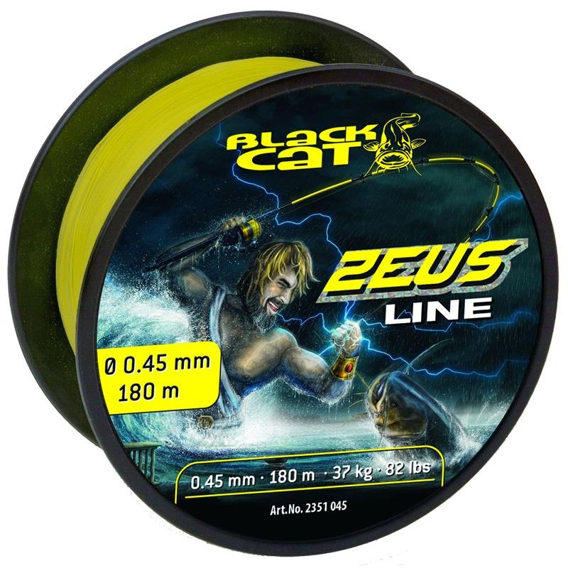 Lines Black Cat ZEUS LINE JAUNE 450M 60/100