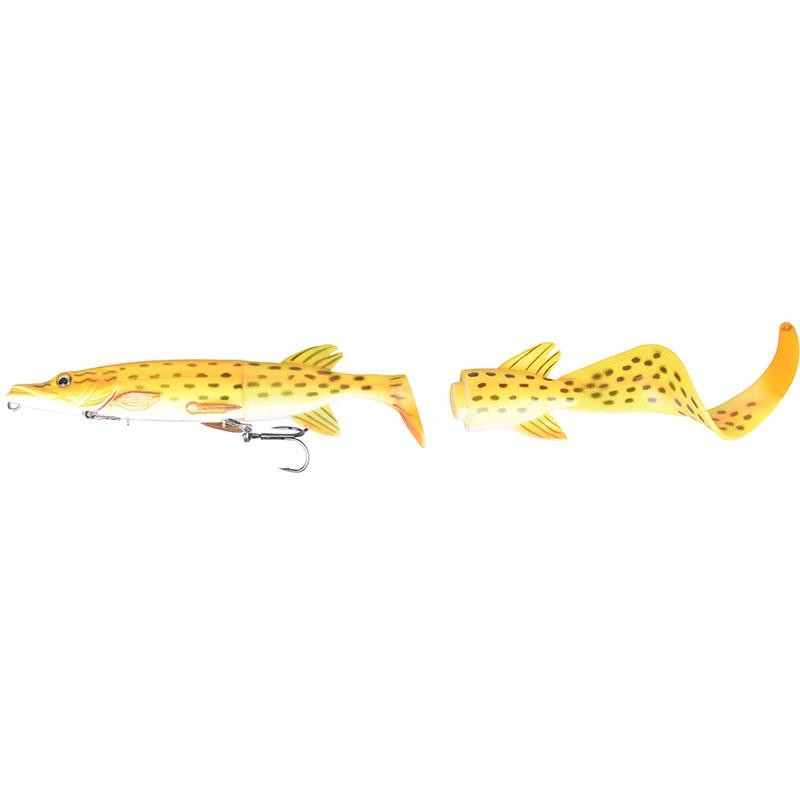 THE 3D HYBRID PIKE 17CM ALBINO PIKE