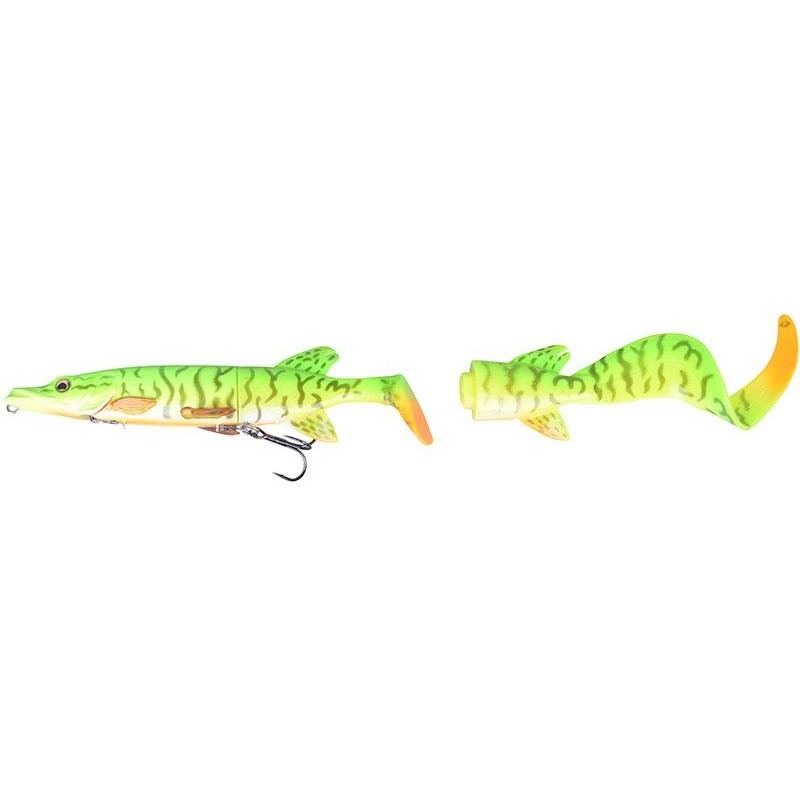 Lures Savage Gear THE 3D HYBRID PIKE 17CM FIRETIGER