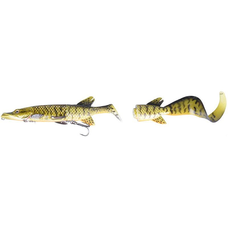 Lures Savage Gear THE 3D HYBRID PIKE 17CM MUDDY PIKE