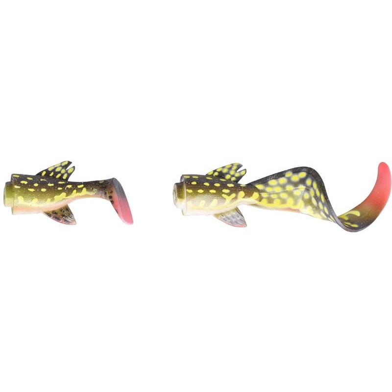 3D HYBRID PIKE 25CM YELLOW PIKE