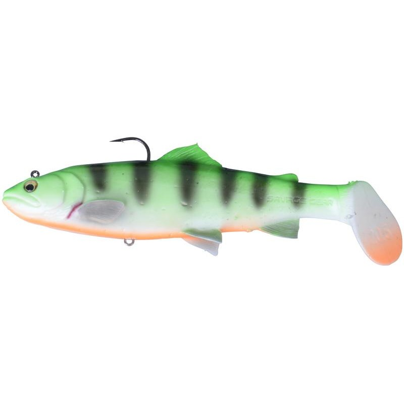 Lures Savage Gear 3D TROUT RATTLE SHAD SS FIRETIGER - 20.5CM, 103G