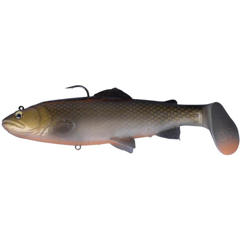 3D TROUT RATTLE SHAD MS DIRTY ROACH - 20.5CM, 120G