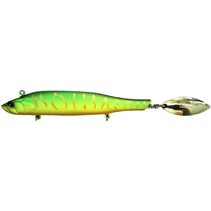 Lures Babyface SM135 13.5CM 50GR HOT TIGER
