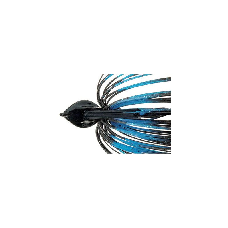 FLAT BACK JIG 14G BLUE BLACK