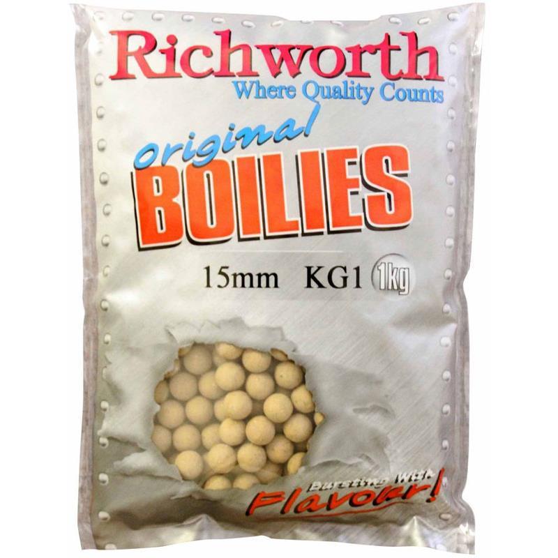 Baits & Additives Richworth ORIGINAL RANGE BOUILLETTE 5KG 15MM KG1