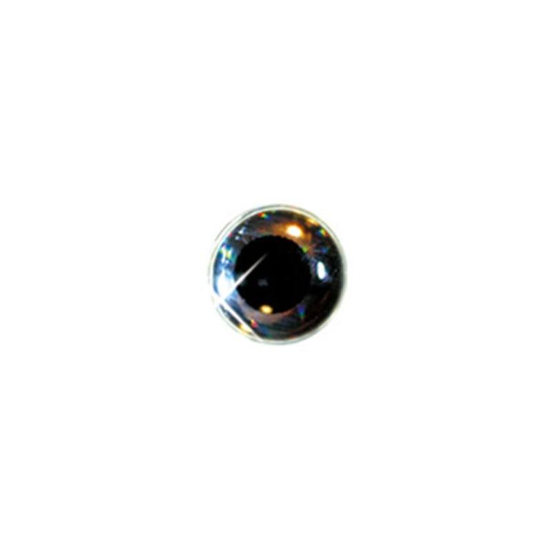 YEUX DELALANDE 3D - 7.5mm - Argent