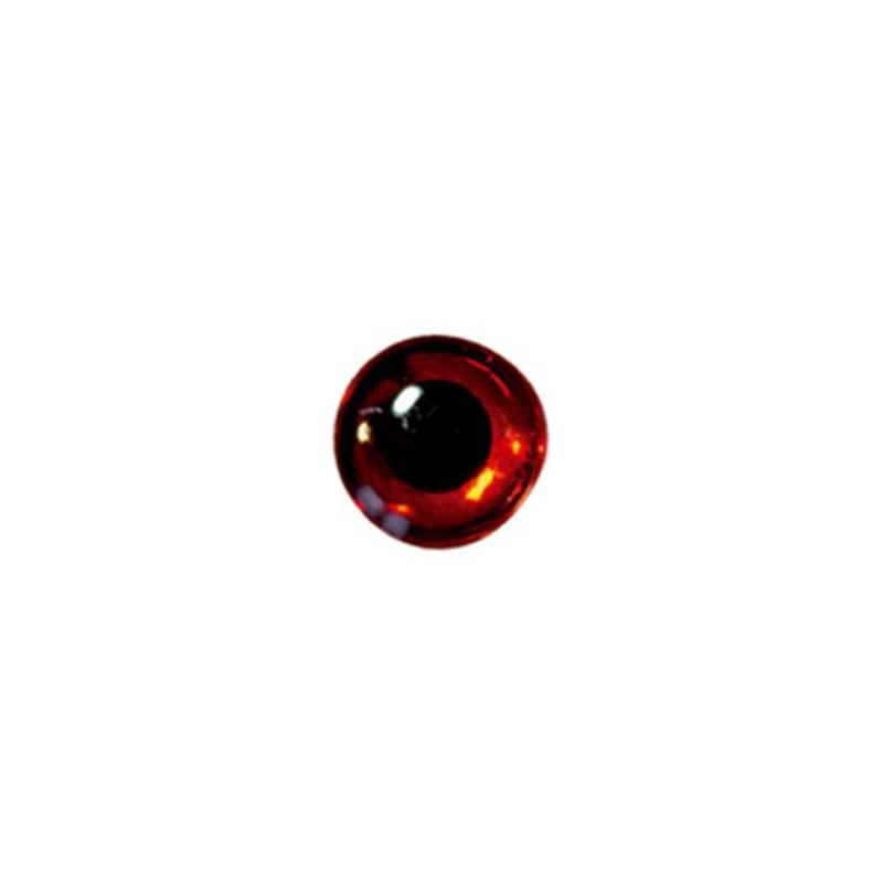 YEUX DELALANDE 3D - 9mm - Rouge