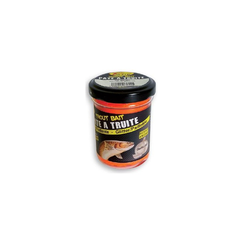 Baits & Additives Truite Innovation PATE A TRUITE AIL FLUO ORANGE