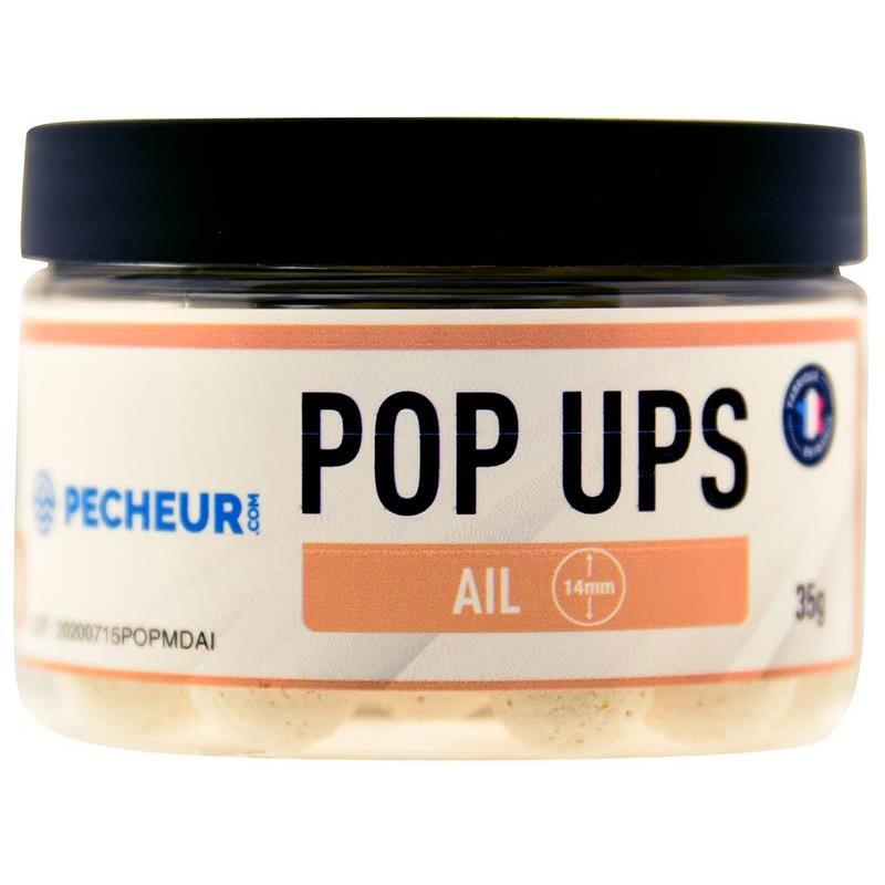 Baits & Additives Pecheur.com PECHEUR.COM BY CAP RIVER POP UPS AIL