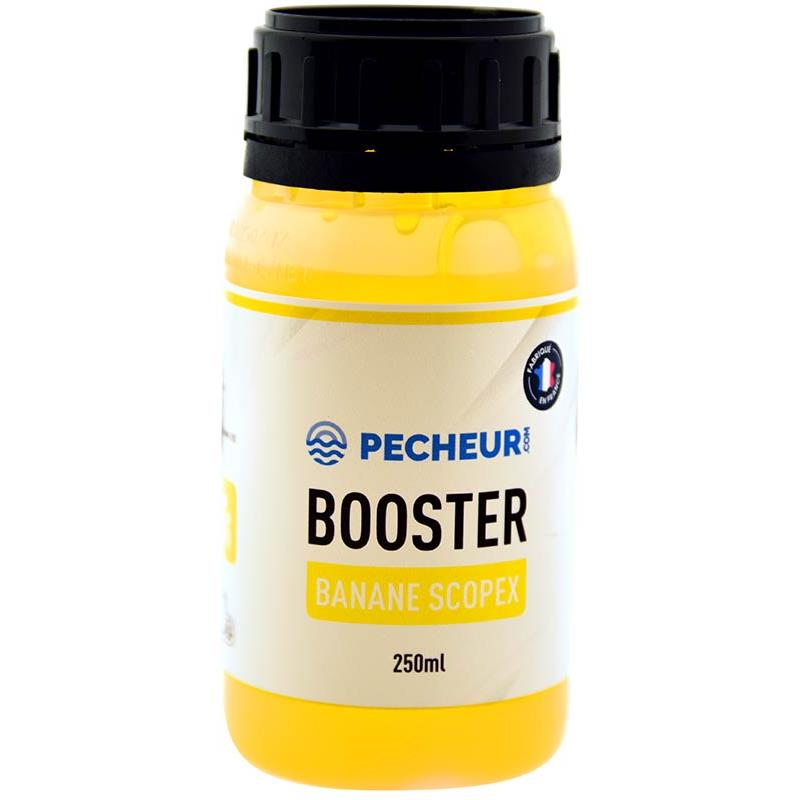 Baits & Additives Pecheur.com PECHEUR.COM BY CAP RIVER BOOSTER BANANE SCOPEX
