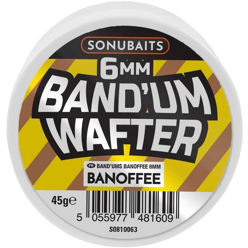 Baits & Additives Sonubaits BAND'UM WAFTERS 6MM BANOFFEE