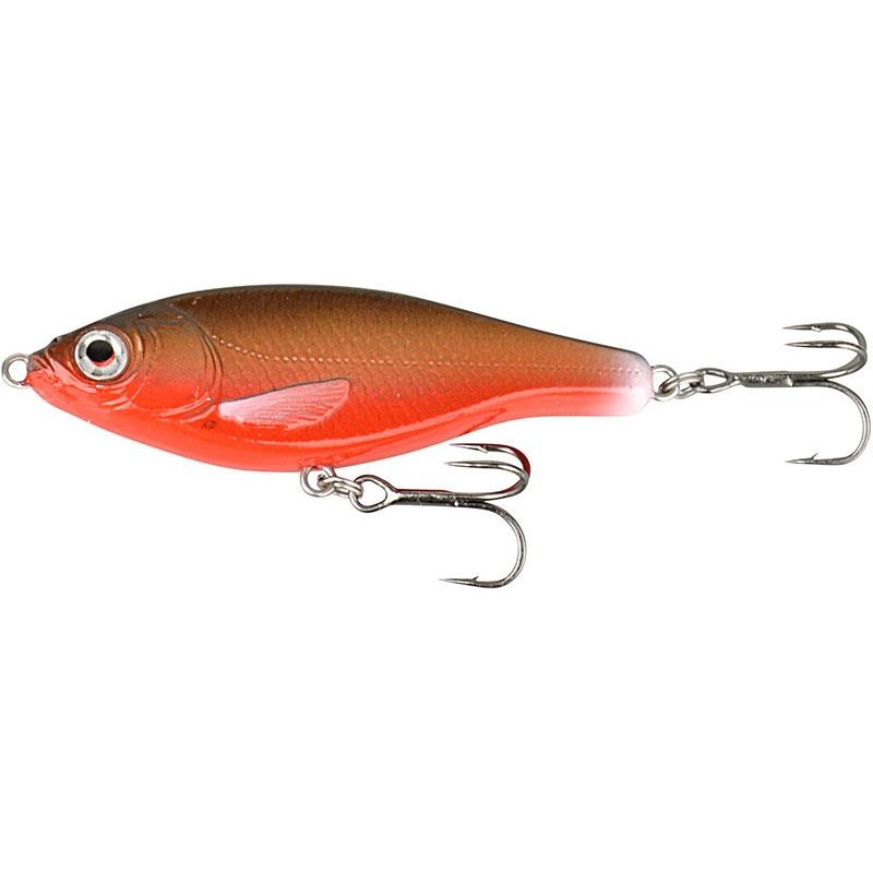 LEURRE COULANT SAVAGE GEAR 3D ROACH JERKSTER - 11.5CM - Black and Red