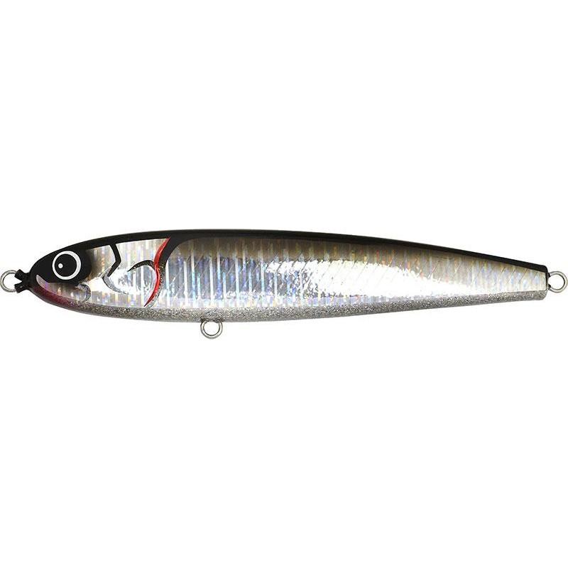 Lures Fish Tornado PENCIL 22CM BLACK BACK