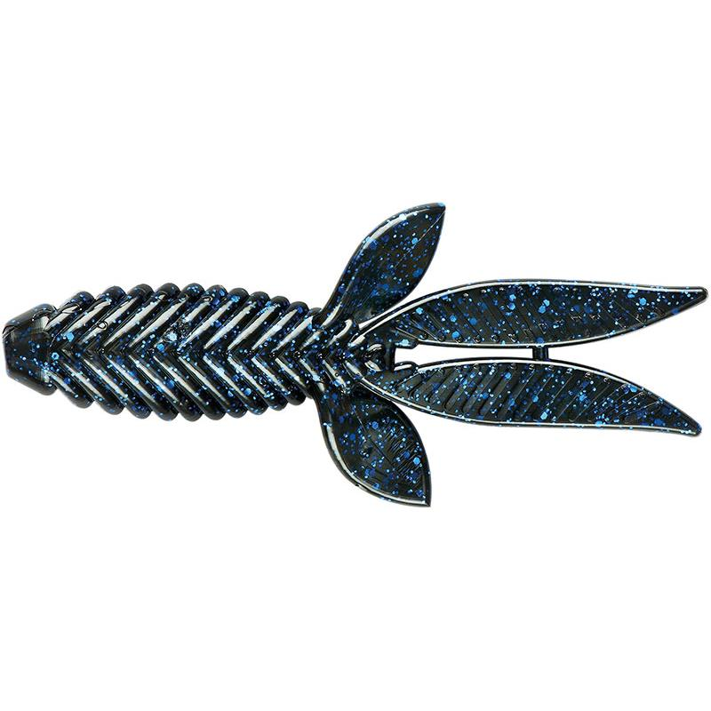 Lures YUM BAD MAMMA 11CM BLACK BLUE FLAKE