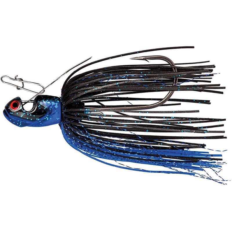 CHATTERBAIT BOOYAH MELEE - 14G - Black Blue Black