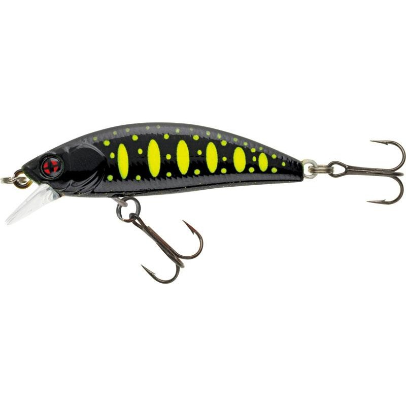 Lures Sakura PHOXY MINNOW HW 4CM BLACK FURY TROUT
