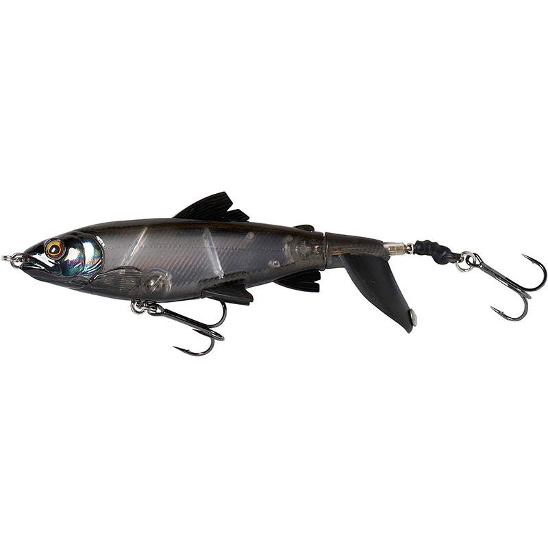 Lures Savage Gear 3D SMASH TAIL 10CM BLACK GHOST