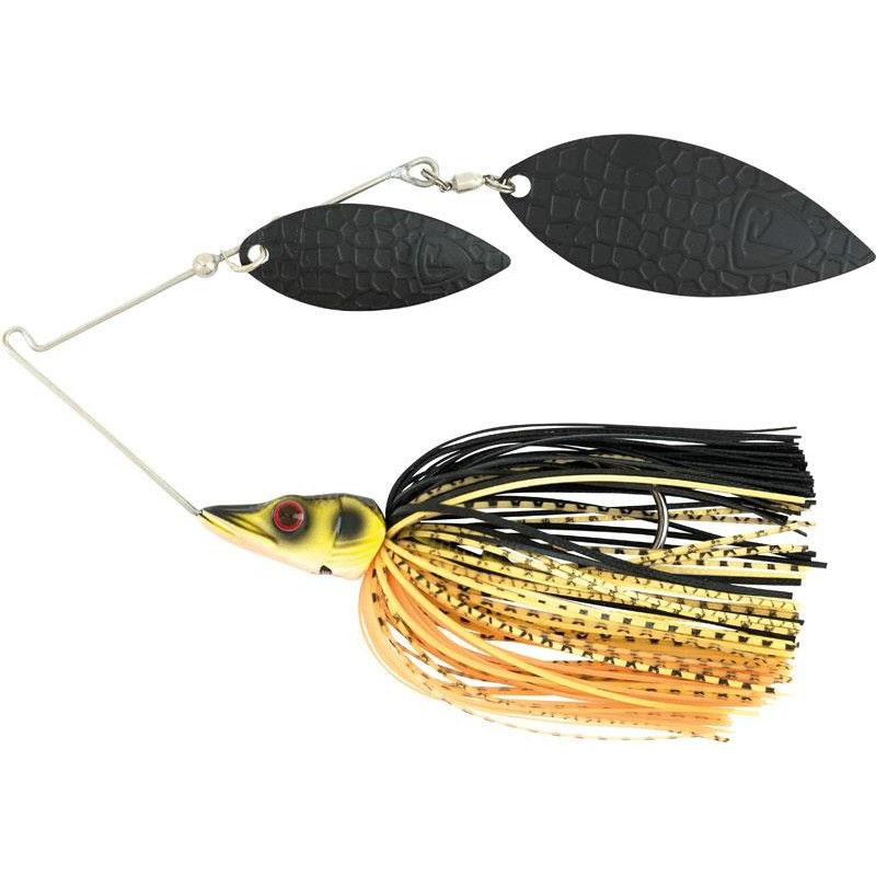 Lures Fox Rage PIKE SPINNERBAITS 28G BLACK & GOLD - BLACK GOLD