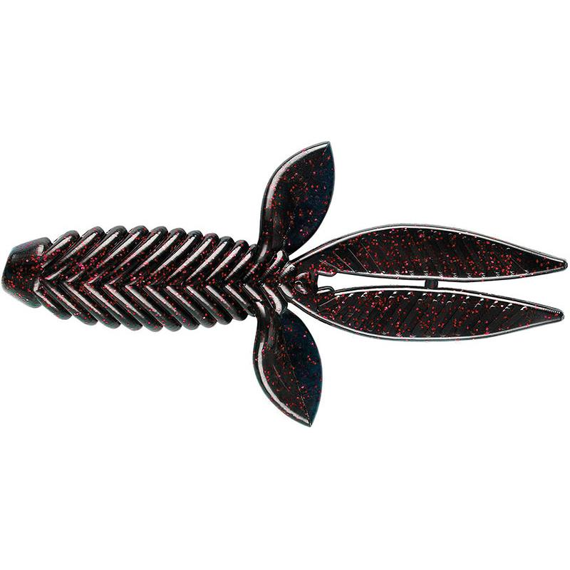 Lures YUM BAD MAMMA 11CM BLACK RED FLAKE