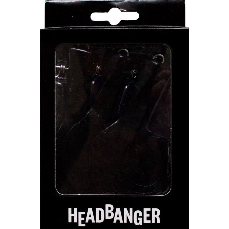Lures HeadBanger TAIL REPLACEMENT TAILS BLACK