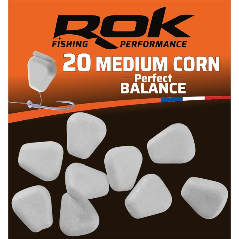 Baits & Additives Rok Fishing MEDIUM CORN PERFECT BALANCE BLANC