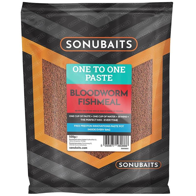Baits & Additives Sonubaits ONE TO ONE PASTE BLOODWORM