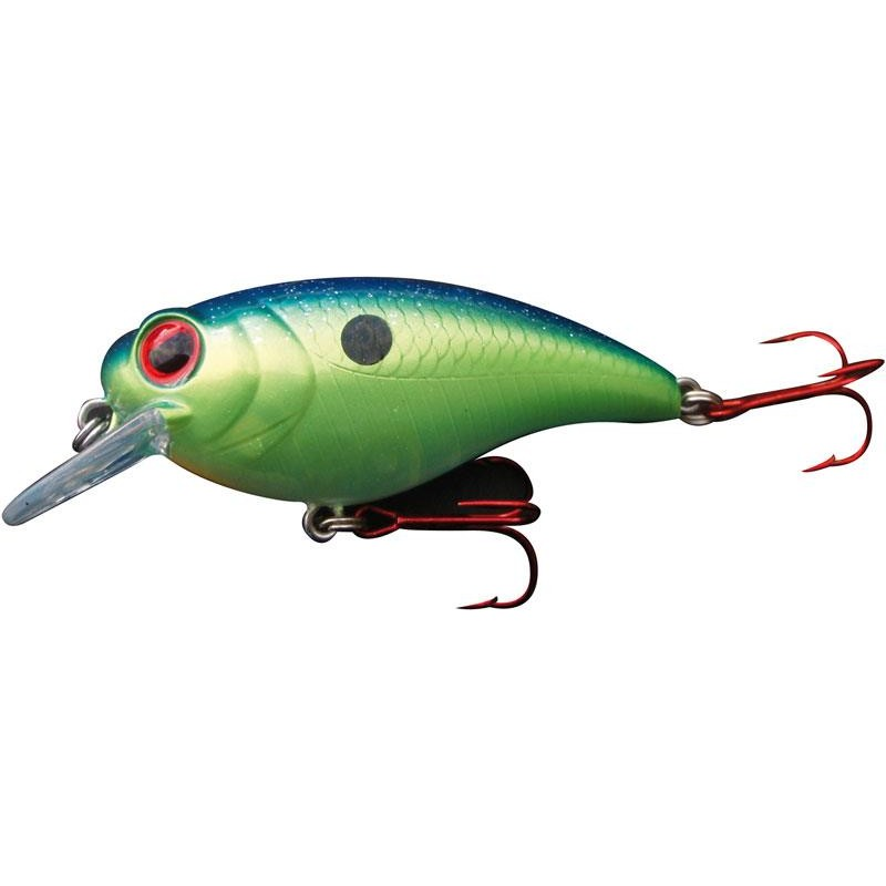 Lures Biwaa Fishing Performance YAKUZA SR1 5.5CM BLUE BACK CHART - BLUE BACK CHARTREUSE
